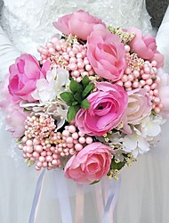 """cheap -Wedding Flowers Bouquets Wedding Polyester 9.84""""(Approx.25cm)"""