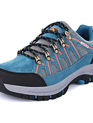 cheap -Men's Shoes PU Spring Fall Comfort Athletic Shoes Hiking Shoes Lace-up For Outdoor Khaki Blue Army Green