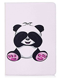 cheap -For iPad 10.5 Case Cover Card Holder Wallet with Stand Flip Pattern Magnetic Full Body Case Panda Hard PU Leather for Apple iPad pro 10.5