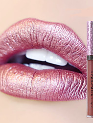 New Glitter Lip Gloss Makeup Pigment Gold Nude Mermaid Color Lipgloss Shimmer Metallic Liquid Lipstick Lip Gloss