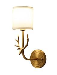 preiswerte -5 E14 Tiffany Einfach Traditionell-Klassisch Landhaus Stil Messing Eigenschaft for Ministil Birne inklusive,Oberlicht Wandleuchte