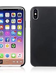 economico -Per iPhone X iPhone 8 Custodie cover Ultra sottile Custodia posteriore Custodia Tinta unica Morbido TPU per Apple iPhone X iPhone 8 Plus