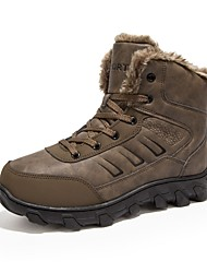 economico -Per uomo Fashion Boots Similpelle Autunno / Inverno Stivaletti Stivaletti / tronchetti Nero / Marrone