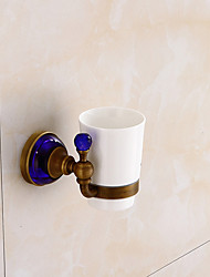cheap -Toothbrush Holder High Quality Antique Brass 1 pc - Hotel bath Wall Mounted