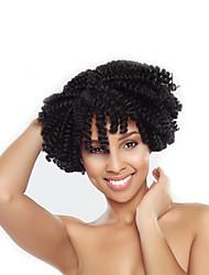 Pré-boucle Tresses crochet Tresse Natté Boucle Kenzie 8 pouces Cheveux Rebondissant Jamaicains 100% cheveux kanekalon Cheveux 100 %