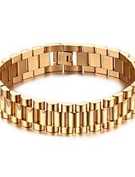 cheap -Men's Chain Bracelet Punk Rock Titanium Steel Line Jewelry For Party Gift