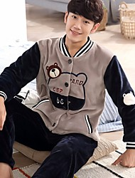 Men's Wool Flannel Pajama