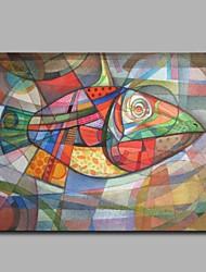 Недорогие -декор басовой стены ручной покрашенное современное живопись маслом современное произведение искусства стены