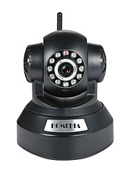 homedia® 720p wifi ip camera 1.0mp sans fil p2p onvif ptz tf carte vision nocturne vue mobile