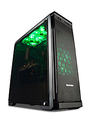 mayn Настольный компьютер Tower Intel i7 Quad Core 8GB 240GB SSD GTX1050Ti 4 Гб GDDR4 Игры