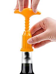 rolha de vinho tinto ferramenta abridor de garrafas abridor de garrafas corkscrewer removedor de extração de cortiça cor aleatória