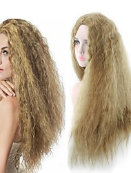 cheap -Women Synthetic Wig Capless Long Curly Blonde Party Wig Halloween Wig Natural Wigs Costume Wig