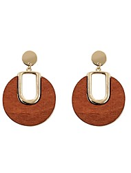 cheap -Women's Drop Earrings - Personalized, Fashion Black / Brown For Gift / Daily