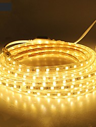 cheap -18M/1PCS  220V 5050 LED Flexible Tape Rope Strip Light Xmas Outdoor Waterproof   Garden outdoor lightingEU Plug EU