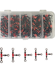 cheap -Fishing Tackle Box Fishing Hooks Fishing Accessories Set Fishing Accessories Fishing Snaps & Swivels Waterproof Rotating Jigging Sea