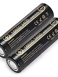 LiitoKala Lii - 34A 18650 Li-ion Rechargeable Battery 2Pcs