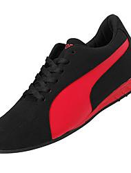 abordables -Homme Chaussures Polyuréthane Automne / Hiver Confort Basket Noir / blanc / Noir / Rouge