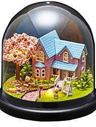 cheap -Balls Music Box Jigsaw Puzzle Model Building Kit Dome House Cartoon Classic DIY Kid's Adults Kids Gift Unisex