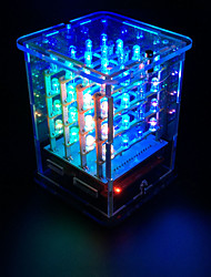 cheap -keyestudio 4*4*4 RGB LED CUBE KIT for Arduino