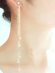 Euner® Exaggerated Earring/ Tassel Earrings Eardrop/Super Long Earrings