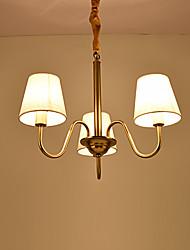 baratos -Tradicional/Clássico Estilo Mini Lustres Luz Ambiente Para Interior Entrada Garagem 110-120V 220-240V 110-120V 220-240V Lâmpada Não