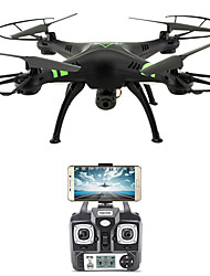 cheap -RC Drone FLYRC X53 4CH 6 Axis 2.4G With HD Camera 1.0MP 1080P*720P RC Quadcopter WIFI FPV Height Holding One Key To Auto-Return