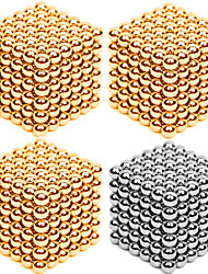 cheap -Magnet Toys Super Strong Rare-Earth Magnets Neodymium Magnet Magnetic Balls Stress Relievers 216*4 Pieces 3mm Toys Metal Contemporary