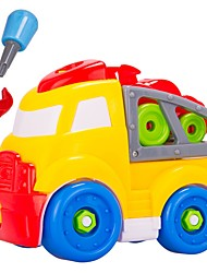 cheap -Building Blocks Construction Vehicle Toys DIY Large Size Kids' 28 Pieces