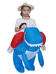 Недорогие -Верховая езда динозавров Детские Рождество Хэллоуин Карнавал Фестиваль / праздник Костюмы на Хэллоуин Животное