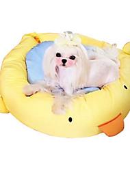 Недорогие -Собака Кровати Животные Коврики и подушки Однотонный