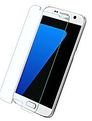 abordables -Vidrio Templado Protector de pantalla para Samsung Galaxy S7 Protector de Pantalla Frontal Dureza 9H Borde Curvado 2.5D Alta definición