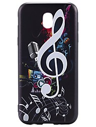 baratos -Capinha Para Samsung Galaxy J7 (2017) J3 (2017) Estampada Capa Traseira Desenho Animado Macia TPU para J7 Prime J7 (2017) J7 V J5 (2016)