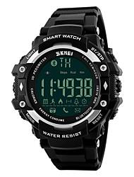Недорогие -SKMEI Муж. Спортивные часы Смарт-часы электронные часы Цифровой PU Группа Черный