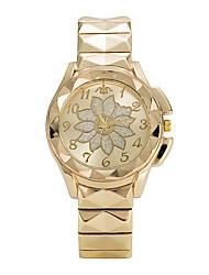 abordables -Mujer Cuarzo Reloj de Pulsera Gran venta Aleación Banda Lujo Casual Elegant Moda Cool Plata Dorado Oro Rosa