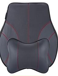 Automobil Kopfstütze & Taille Kissen Kits Für Universal Alle Jahre Alle Modelle Hüftkissen fürs Auto Leder