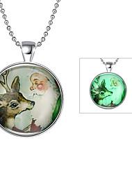 Pánské Dámské Náhrdelníky s přívěšky Šperky Animal Shape Postříbřené Cute Style Šperky Pro Denní