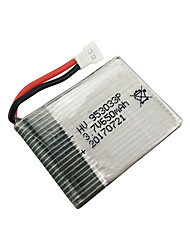 X8TW batteri Fjernstyret quadcopter Generel -