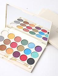 preiswerte -3 Lidschattenpalette Schimmer Mineral Lidschatten-Palette Puder Alltag Make-up Party Make-up Feen Makeup