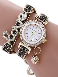 Women's Kid's Dress Watch Fashion Watch Bracelet Watch Unique Creative Watch Simulated Diamond Watch Chinese Quartz Water Resistant /