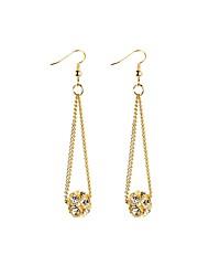 Women's Drop Earrings Rhinestone Basic Tassel Imitation Pearl Alloy Line Drop Jewelry For Wedding Party Birthday Graduation Engagement