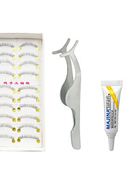 Wimpern Augenwimpern Untere Wimpern Augen Faser Transparent Band
