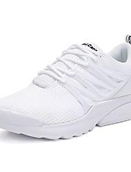 Homme Chaussures Tulle Polyuréthane Printemps Automne Confort Chaussures d'Athlétisme Course à Pied Lacet Pour Athlétique Décontracté