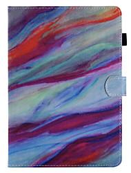 billige -til kuffert kortholder lommebog med stativ flip mønster fuld krops cover marmor hårdt pu læder til æble ipad pro 10,5 ipad (2017) ipad