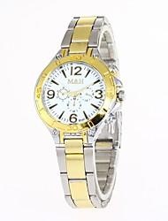 Women's Fashion Watch Wrist watch Chinese Quartz Alloy Band Casual Gold
