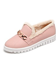 Women's Shoes Customized Materials Winter Snow Boots Bootie Light Soles Loafers & Slip-Ons Flat Heel Low Heel Round Toe Closed Toe