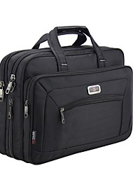 Unisex Bags All Seasons Oxford Cloth Briefcase Sequins for Office & Career Black