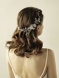 abordables -rhinestone aleación tiaras diademas flores casco estilo elegante