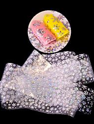 1 Autocollant d'art de clou Paillettes Motif Accessoires Décoration artistique/Rétro 3D Dessin-Animé Produits DIY Autocollant Maquillage