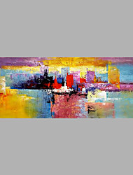 cheap -Hand-Painted Abstract Horizontal,Abstract One Panel Canvas Oil Painting For Home Decoration