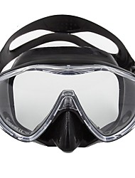 cheap -Snorkel Mask Diving Masks Portable Waterproof Easy Carrying Diving / Snorkeling Glass fiber silicone for Unisex